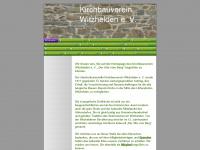 kirchbauverein-witzhelden.de Webseite Vorschau
