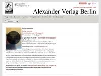 alexander-verlag.com