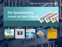 schuenemann-verlag.de Webseite Vorschau