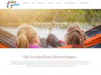 kinder-stadt.de Webseite Vorschau