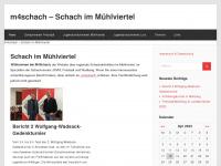 m4schach.net Webseite Vorschau
