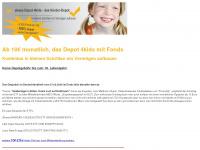 kinder-depot.de Webseite Vorschau