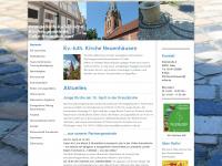 kirchengemeinde-neuenhaeusen.de Webseite Vorschau