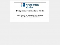 kirchenkreis-vlotho.de Webseite Vorschau