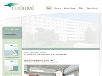 madimed.de Webseite Vorschau