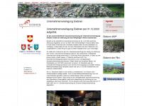 uvsiebnen.ch Webseite Vorschau