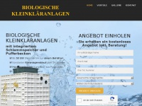 Biologische-kleinkläranlagen.at