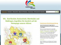 kissinger-bogen.de Webseite Vorschau