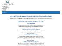logistics-evolution.de Webseite Vorschau