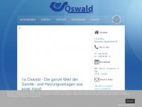 1a-oswald.at Webseite Vorschau