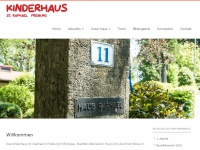 kinderhaus-freiburg.de Webseite Vorschau