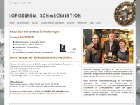 lopodunum-schmuckauktion.de Webseite Vorschau