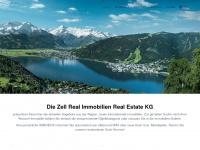 zell-real-immobilien.at Webseite Vorschau