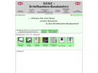 renz briefkasten renz briefkasten baukasten. Black Bedroom Furniture Sets. Home Design Ideas