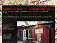 kino-friedrichshain.de Webseite Vorschau