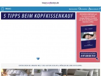 kissenundbetten.de Webseite Vorschau