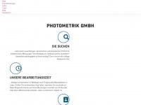photometrik.de Webseite Vorschau