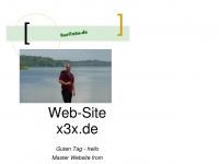 x3x.de Webseite Vorschau
