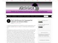 aktivista.net Webseite Vorschau