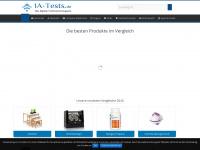 1a-tests.de Webseite Vorschau
