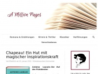 amillionpages.de Webseite Vorschau