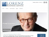 lorenz-businessadvice.de Webseite Vorschau