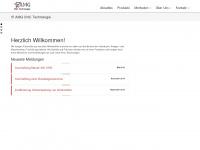 amg-cnc.de Webseite Vorschau