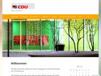 cdu-merzhausen.de Webseite Vorschau