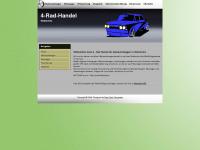 4-rad-handel.de Webseite Vorschau