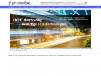 photonexa.com Webseite Vorschau
