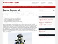 kindermotorrad-test.de Webseite Vorschau