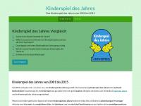 kinderspiele-des-jahres.de Webseite Vorschau