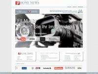 phonenews.at Webseite Vorschau