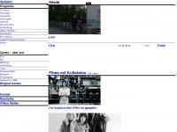 kinocameo.ch Webseite Vorschau