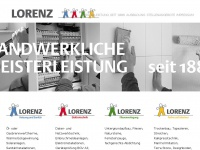 lorenz-kiel.de Webseite Vorschau