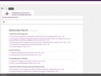 kirchenrecht-nordkirche.de Webseite Vorschau