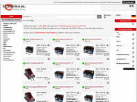 motomike.eu Webseite Vorschau