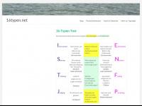 16typen.net Webseite Vorschau