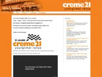 creme21rallye.de Webseite Vorschau