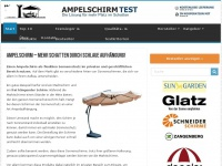 ampelschirm-test.com Webseite Vorschau
