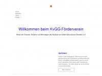 kvgg-förderverein.de Webseite Vorschau
