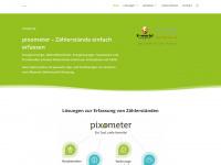 pixometer.io Webseite Vorschau