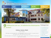 kindergarten-st-gerhard.de Webseite Vorschau