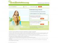 kinderbetreuungberlin.de Webseite Vorschau