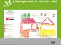 kiga-stpius.de Webseite Vorschau