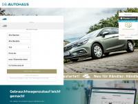 dbautohaus.de Webseite Vorschau