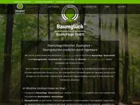 baumglueck.de Webseite Vorschau