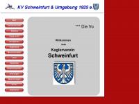 kv-schweinfurt.eu Webseite Vorschau