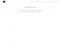 verena-joos.de Webseite Vorschau
