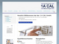 1acal.eu Webseite Vorschau